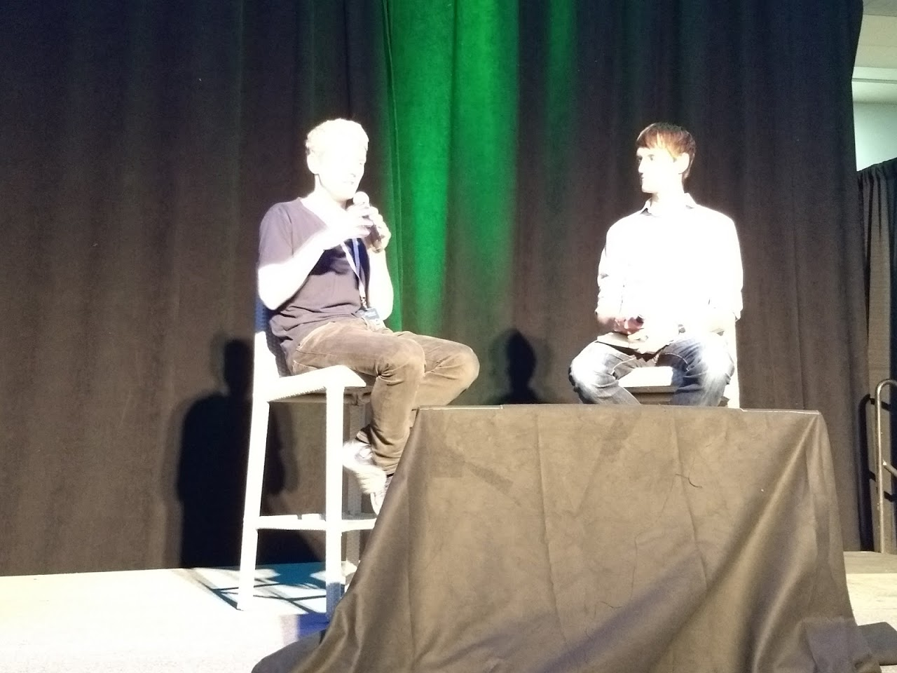 Patrick Collison & Rob Walling @ microConf 2018